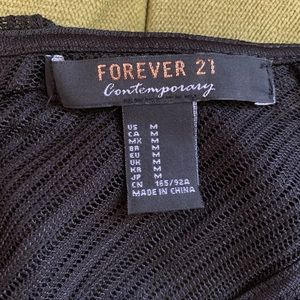 Forever 21 Dresses - F21 black lace dress
